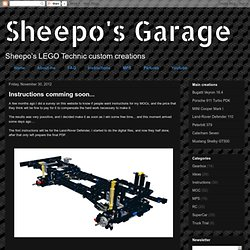 Sheepo's Garage: Instructions comming soon...