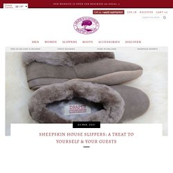 Sheepskin House Slippers: A Treat to Yourself and Your Guests