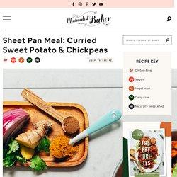 Sheet Pan Meal: Curried Sweet Potato & Chickpeas