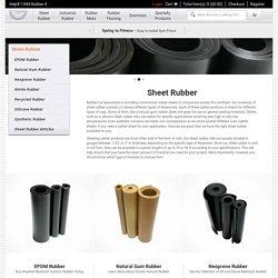 Rubber Sheet Roll - Rubber-Cal Inc.