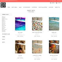 Sheet Set - All Art - StumbleUpon