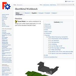 SheetMetal Workbench