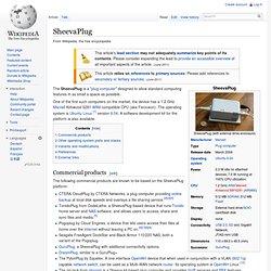 SheevaPlug