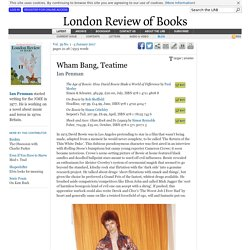 Ian Penman reviews 'The Age of Bowie' by Paul Morley, 'On Bowie' by Rob Sheffield, 'On Bowie' by Simon Critchley and 'Shock and Awe' by Simon Reynolds · LRB 5 January 2017