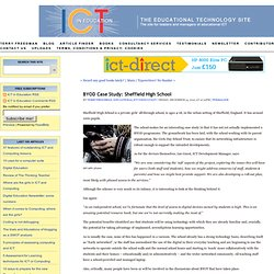 BYOD Case Study: Sheffield HighSchool