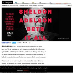 Sheldon Adelson Bets It All