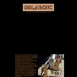 Cardboard Solar CNC
