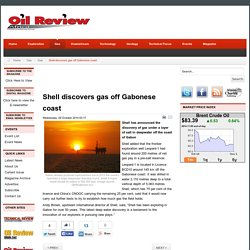 Shell discovers gas off Gabonese coast