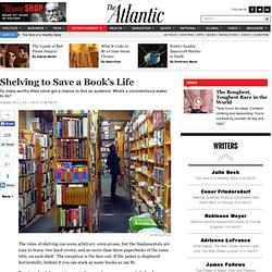 Shelving to Save a Book's Life - Susan Coll