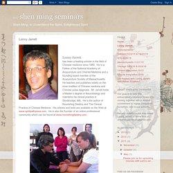 神明 shen ming seminars: Lonny Jarrett