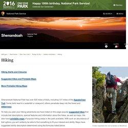 Hiking - Shenandoah National Park (U.S. National Park Service)
