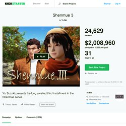 Shenmue 3 by Ys Net