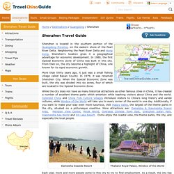 Shenzhen Travel Guide: Map, History, Attractions, Tours