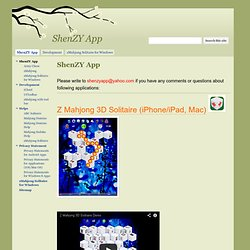 ShenZY App-block puzzle