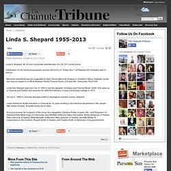 Linda S. Shepard 1955-2013 - The Chanute Tribune: Obituaries