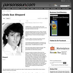 Linda Sue Shepard - Parsons Sun: Obituaries