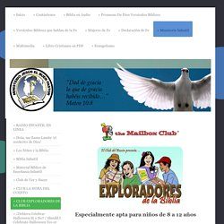 Jesus The Good Shepherd Ministy - CLUB EXPLORADORES DE LA BIBLIA