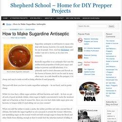 Shepherd School - Home for DIY Prepper Projects