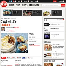 Shepherd's Pie Recipe : Alton Brown