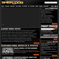 Sherdog.com: UFC, Mixed Martial Arts (MMA) News, Results, Fighti