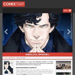 Sherlock : superbe adaptation de la série TV en manga - Comixtrip