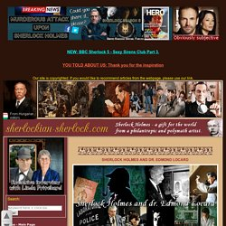 Edmond Locard, Sherlock Holmes, forensic science, exchange principle