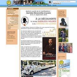 Sherlock Holmes Journées Découvertes - Commune de Lucens