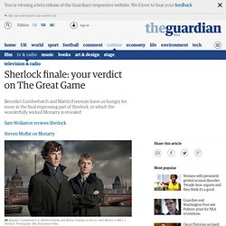 Sherlock finale: your verdict on The Great Game