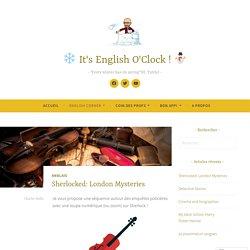Sherlocked: London Mysteries – ❄️️ It's English O'Clock ! ⛄