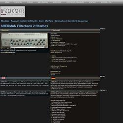Sherman Filterbank 2 filterbox