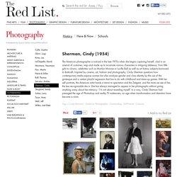 Sherman, Cindy : Photography, History
