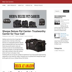 Sherpa Deluxe Pet Carrier Review-Best Cat Carriers