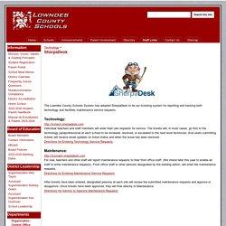 SherpaDesk - Lowndes County Schools