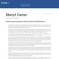 Sheryl Carter - Innovation Wireless