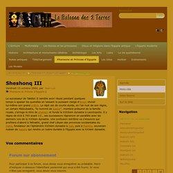 Sheshonq III
