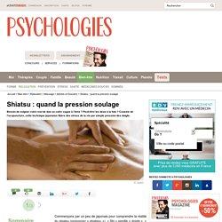 Shiatsu - Massage Shiatsu