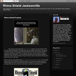 Rhino Shield Jacksonville: Rhino Shield Protects