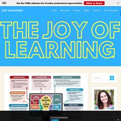 Small Big Things: The Shifting Culture via #Remote Learning – Judy Imamudeen