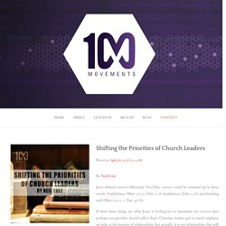 Shifting the Priorities of Church Leaders