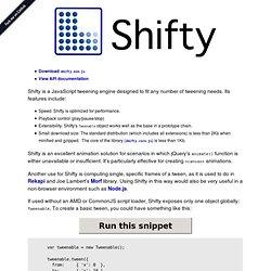 Shifty!