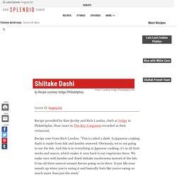 Shiitake Dashi