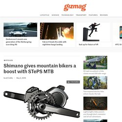Shimano gives mountain bikers a boost with STePS MTB