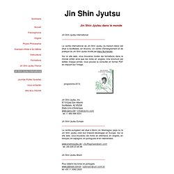 Jin Shin Jyutsu - site international