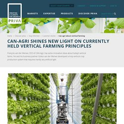 CAN Agri : Salade en production verticale
