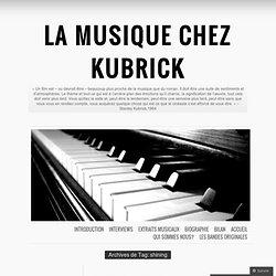 La musique chez Kubrick