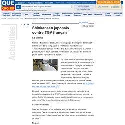 Shinkansen japonais contre TGV français - La claque