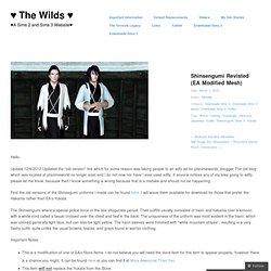 Shinsengumi Revisted (EA Modified Mesh) « PTylo's Wordpress