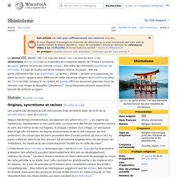 Shintoïsme