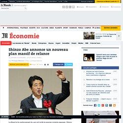 Shinzo Abe annonce un nouveau plan massif de relance
