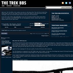Ship sizes: ALL LIES! (big pics) - The Trek BBS